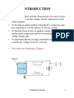 Series Circuits (DC)