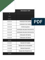 Modelo de Documento Orçamento