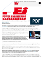 Alstom Acquisition 'Has Made Us a Much Better Company' – GE Power Chief - Power Engineering International