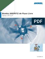 Bomba Andritz Free-flow Pump