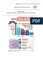 Quarterly Construction Statistics, Second Quarter 2016