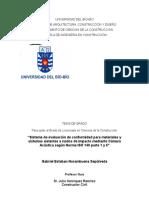 Universidad Del Bio-bio Tesis Incompleta