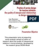 Practica del diseño de servicios para iniciativas turisticas - Ivan Bursztyn