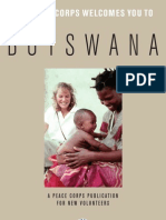 Peace Corps Botswana Welcome Book  |  January 2008