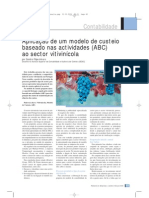 Contabilidade - Aplicação de Modelo de Custeio para Vitivinícola