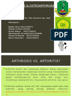 Osteoarthritis Fix