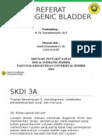 Referat - Neurogenik Bladder - Galuh Dharanindya I M.ppt