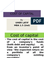 Cost of Capital Final