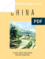 Peace Corps China Welcome Book  |  January 2009