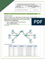PT configuring VLans
