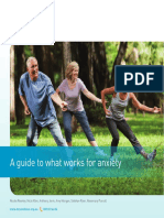 Booklet - A Guide to What Works for Anxiety