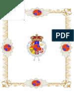Arbol Genealogico y Normas de Sucesion de Los Reyes de Navarra