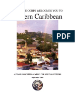 Peace Corps Eastern Caribbean Welcome Book  |  September 2009