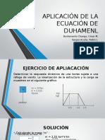Ecuación de Duhamenl