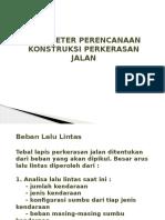 TJR II 4 Parameter Perencanaan Perkerasan