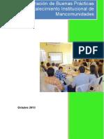Sistematizacion Buenas Practicas Mancomunidades (23.10.2013)