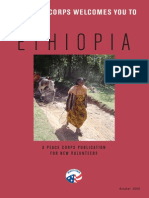 Peace Corps Ethiopia Welcome Book  |  October 2009