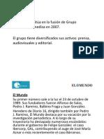 Tema 4. La Edición Escrita Unidad Editorial y Prensa Ibérica