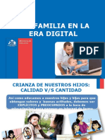 Ppt Ser Familia en La Era Digital