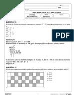 Resolucao Desafio 9ano Fund2 Matematica 080115