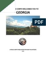 Peace Corps Georgia Welcome Book  |  2010