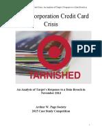 target crisis case study