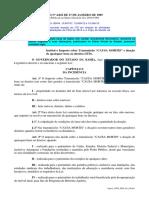 ITD Bahia - LEI Nº 4.826 DE 27 DE JANEIRO DE 1989