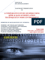 55548176 Ofdm Project Ppt