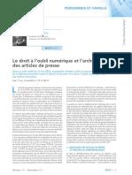 Revue Lamy droit civil_novembre 2016_Droit à l'oubli.pdf