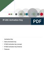 11. IP20C Activation Key