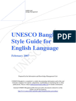 Style Guide 2007