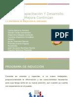 3.1. Programa de Inducción Al Empleado