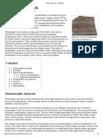 Metamorphic Rock - Wikipedia