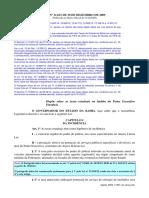 Taxas no Estado da Bahia - LEI Nº 11.631 DE 30 DE DEZEMBRO DE 2009