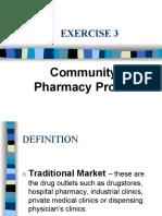 INTERN-3 Community Pharmacy Profile