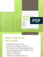 Aerial and Other Laws powerpoint