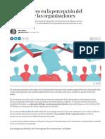 Compromiso Empresarial 20. Los desajustes en la percepción del propósito de las organizaciones.