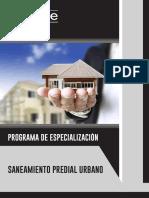Brochure - Programa de Especialización en Saneamiento Predial Urbano