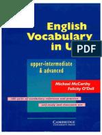 English Vocabulary in Use - Upper-intermediate & Advanced [Michael McCarthy and Felicity O'Dell]  [Cambridge University].pdf