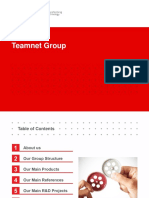 Technological Vision of Teamnet International