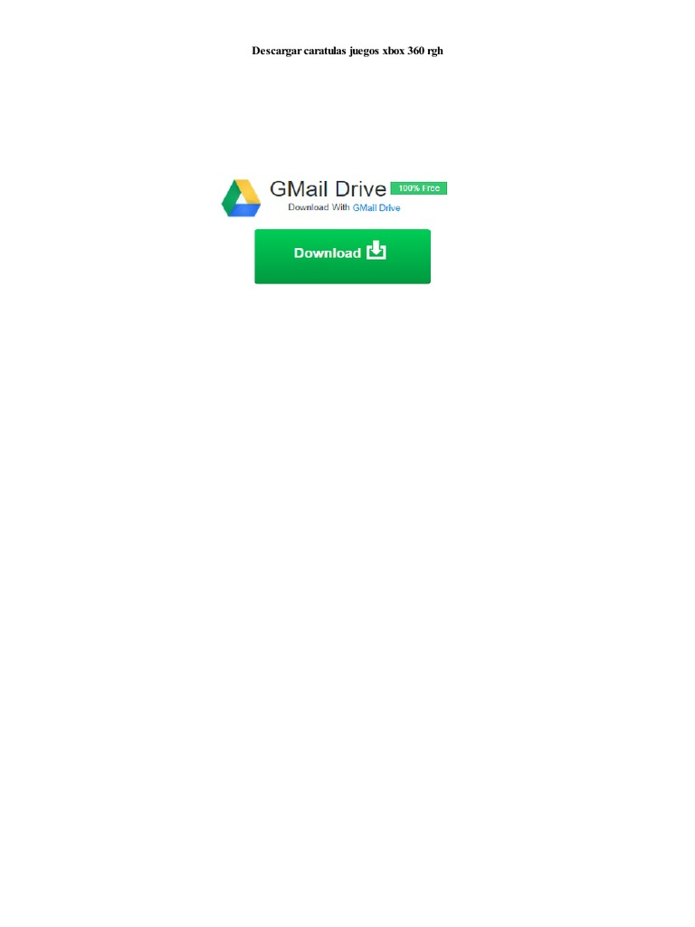 Descargar Caratulas Juegos Xbox 360 Rgh