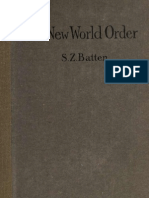 New World Order 1919 by Samuel Zane Batten