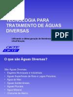 Tecnologia de Tratamento de Águas Diversas - OKTE