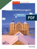 Braunschweiger Stadtführungen im Winter