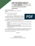 Confirmacion y Reitera Audiencia Al Municipio.