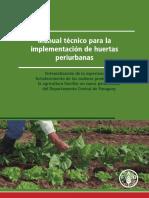 Manual Técnico Para Huertas Urbanas FAO