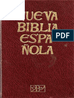 Nueva Biblia Española