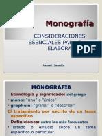 Material Monografía