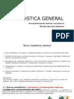Estadistica General 1clase
