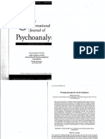 The International Journal of Psychoanalysis 2007